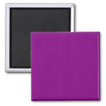 Color purple magnet