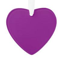 Color purple ornament