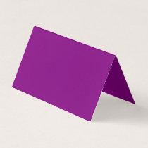 Color purple place card