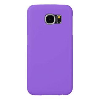 Color púrpura brillante fundas samsung galaxy s6