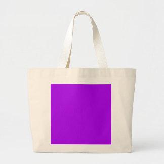 Color púrpura de neón fucsia púrpura brillante sol bolsas de mano