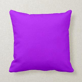 Color púrpura de neón fucsia púrpura brillante sol almohadas