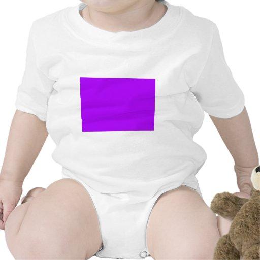 Color púrpura de neón fucsia púrpura brillante sol trajes de bebé