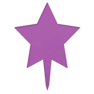 Color púrpura suave decoraciones de tartas