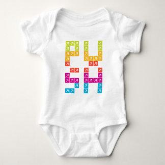Color Push Baby Bodysuit