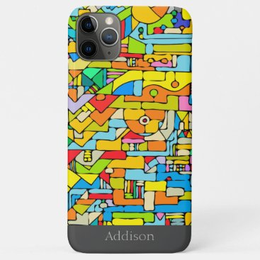Color puzzle iPhone 11 pro max case