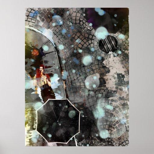Color Rain Poster