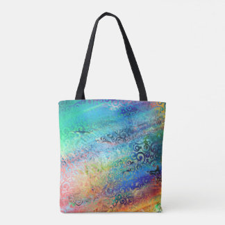 Color  Rain Tote Bag