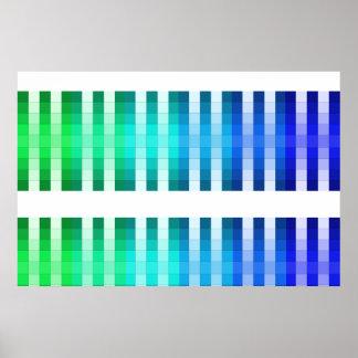 Color Rainbow Long Poster Color Decor Accent 11