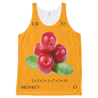COLOR RATIO 10-10 All-Over-Print TANK TOP