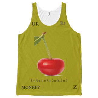 COLOR RATIO 7 All-Over-Print TANK TOP