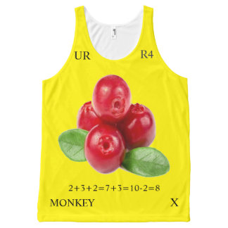 COLOR RATIO 8-8 All-Over-Print TANK TOP