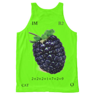COLOR RATIO 9-7 All-Over-Print TANK TOP