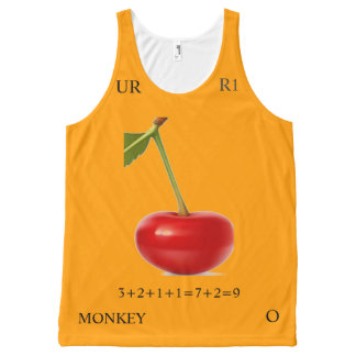 COLOR RATIO 9 All-Over-Print TANK TOP