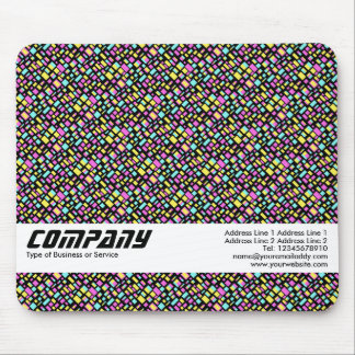 Color Rectangles, Business Mouse Pad