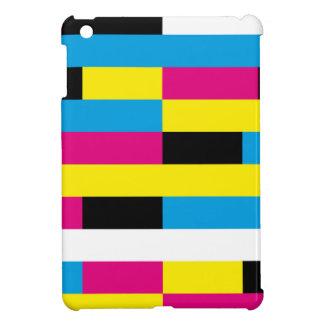 color rectangles iPad mini case