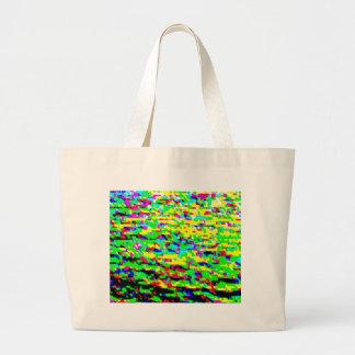 Color regado bolsa de mano