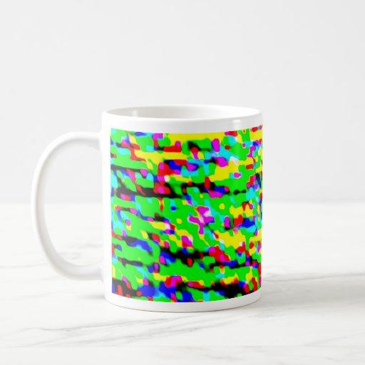 Color regado tazas