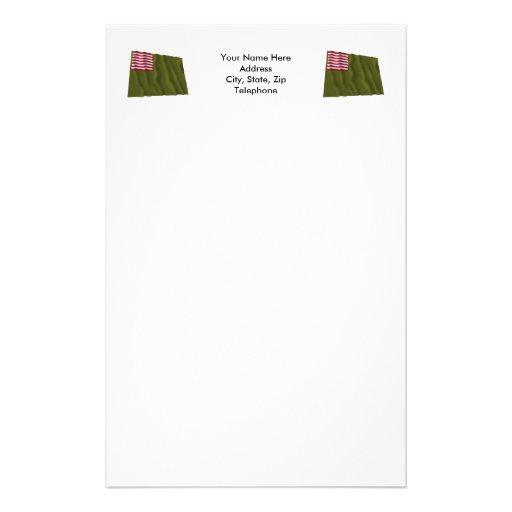 Color regimental de Delaware - bandera de Dansey Papelería Personalizada