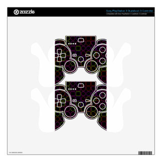 Color Rings Skin For PS3 Controller