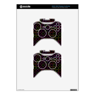 Color Rings Xbox 360 Controller Skin