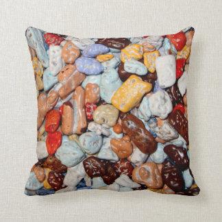 Color Rock Pillow