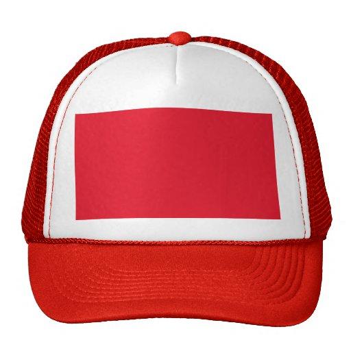 Color rojo gorra