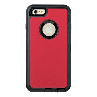 Color rojo renovado R06 de ladrillo Funda OtterBox Defender Para iPhone 6 Plus
