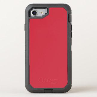 Color rojo renovado R06 de ladrillo Funda OtterBox Defender Para iPhone 7