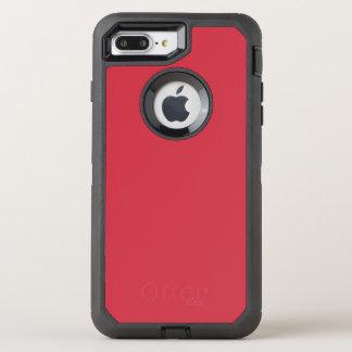 Color rojo renovado R06 de ladrillo Funda OtterBox Defender Para iPhone 7 Plus