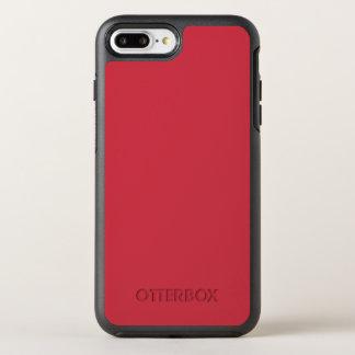Color rojo renovado R06 de ladrillo Funda OtterBox Symmetry Para iPhone 7 Plus