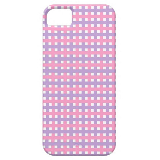Color Rosa de Lindas Lineas iPhone 5 Carcasas