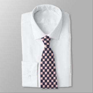 Color rosado del personalizar de la ilusión del corbatas