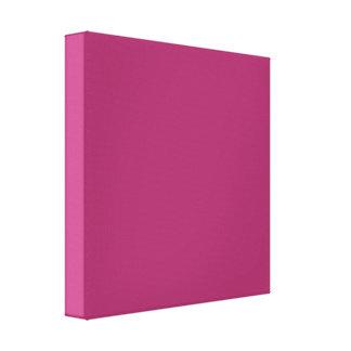 Color rosado magenta armonioso optimista P29 Impresión En Lienzo