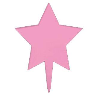 Color rosado suave figuras para tartas