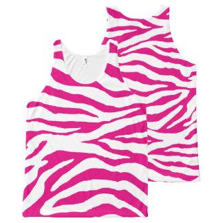 Color/rosas fuertes/estampado de zebra de