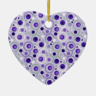 COLOR ROUND PATTERN GIFT II FITS CERAMIC ORNAMENT