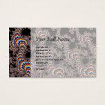Color Run - Fractal Art Business Card