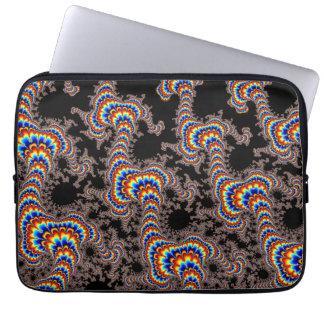Color Run - Fractal Art Laptop Sleeve
