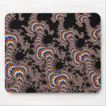 Color Run - Fractal Art Mouse Pad