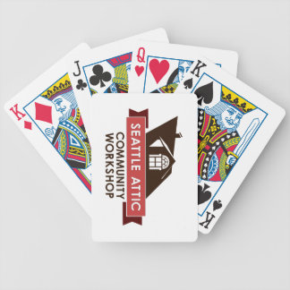 Color SACW Logo Playing Cards
