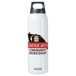 Color SACW Logo, Thermos Water Bottle