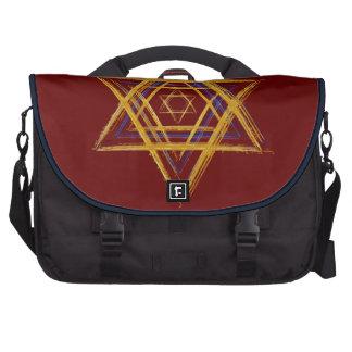 Color sagrado del personalizable del símbolo de la bolsas de portatil