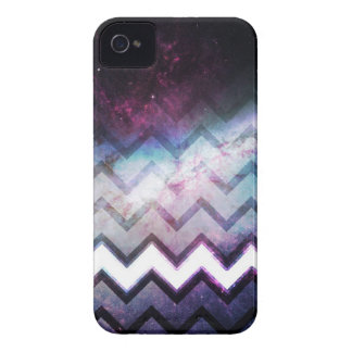 Color Saturated Galaxy Nebula with Chevrons iPhone 4 Case-Mate Cases