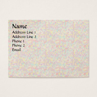 Color scatters business card