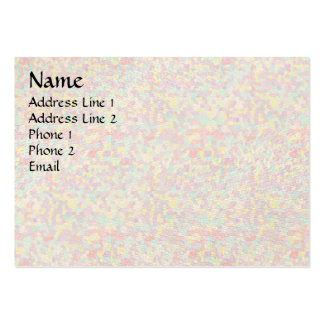 Color scatters large business card