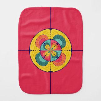 Color scope baby burp cloth