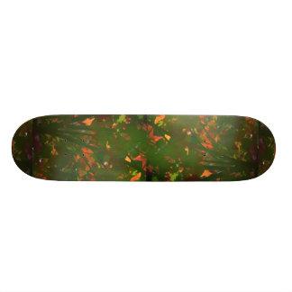 Color screen custom skateboard