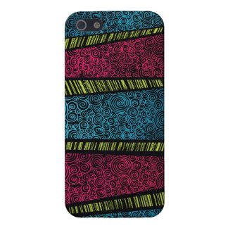 Color Scribble iPhone SE/5/5s Cover