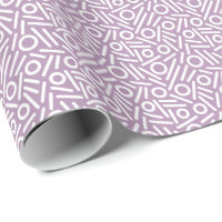 Color seamless monogram Pattern Wrapping Paper